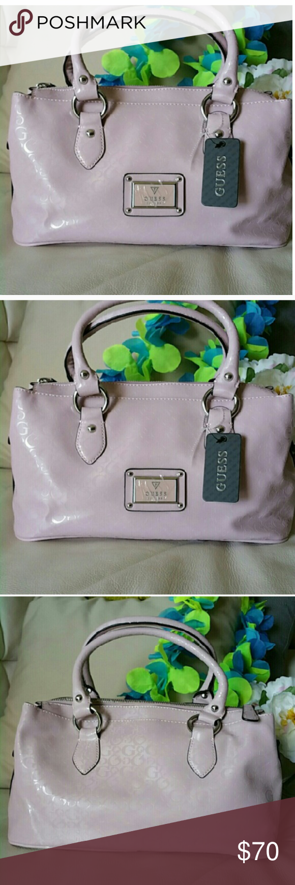 3959c8685a0 NWT Guess rose hued by Marciano brand new handbag NWT beautiful Guess by  Marciano, brand new handbag with a soft rose hued color(hard to caprure in  pic ) ...