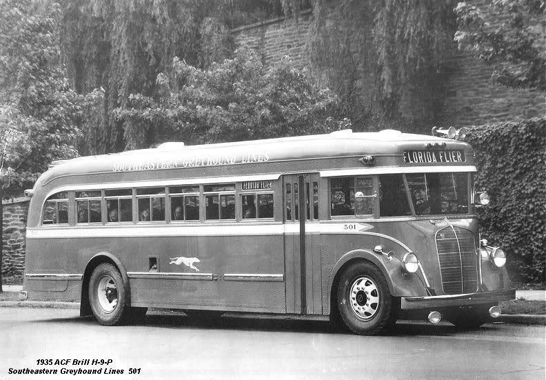 1935 ACF/Brill Bus.