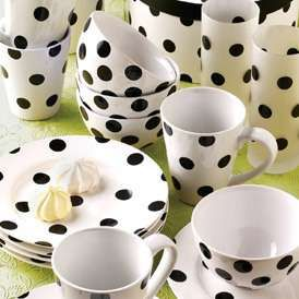 white dinnerware from target | Polka dots are so fun! On sale while supplies last & white dinnerware from target | Polka dots are so fun! On sale while ...
