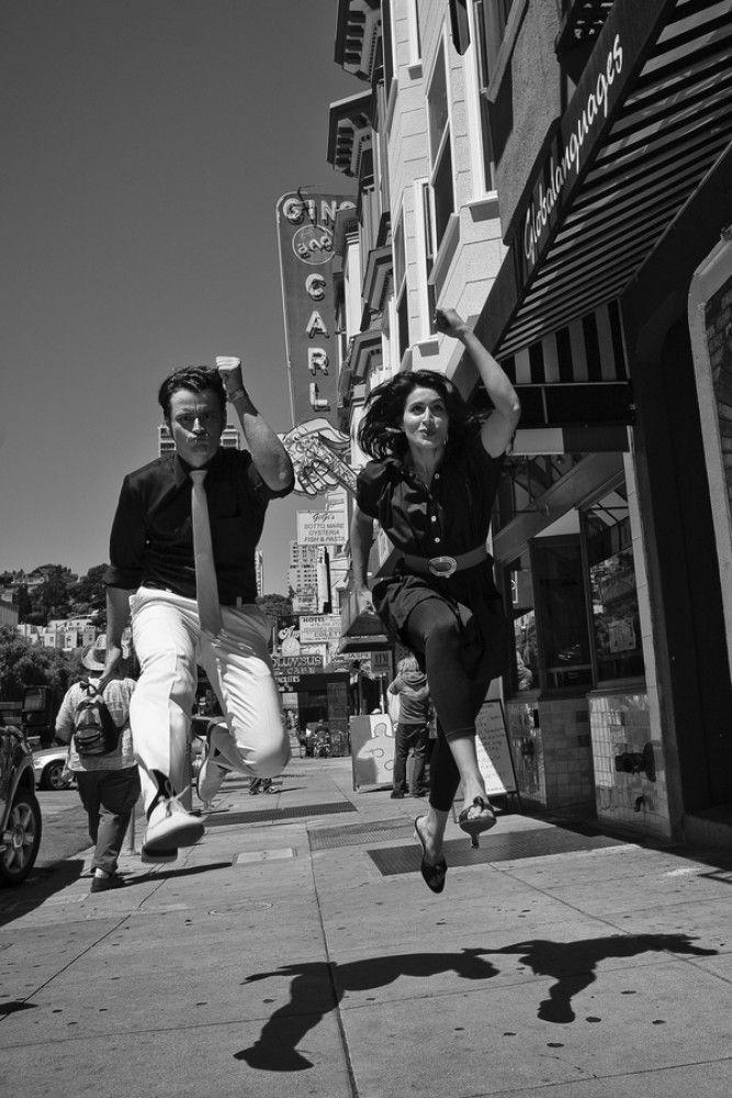 Tournée de fiançailles à San Francisco, créative et inspirée par Hitchcock   – foto