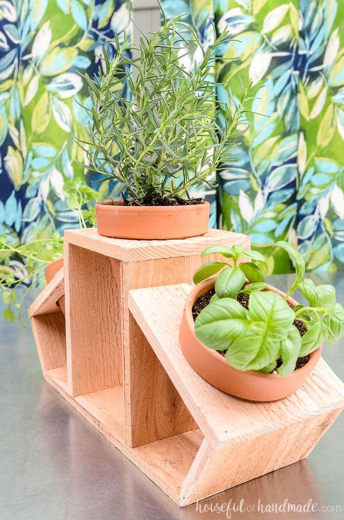 15 Minute Countertop Herb Garden Herb Garden In Kitchen 400 x 300