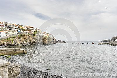 Port In Camara De Lobos Madeira Island Fishing Villages Madeira