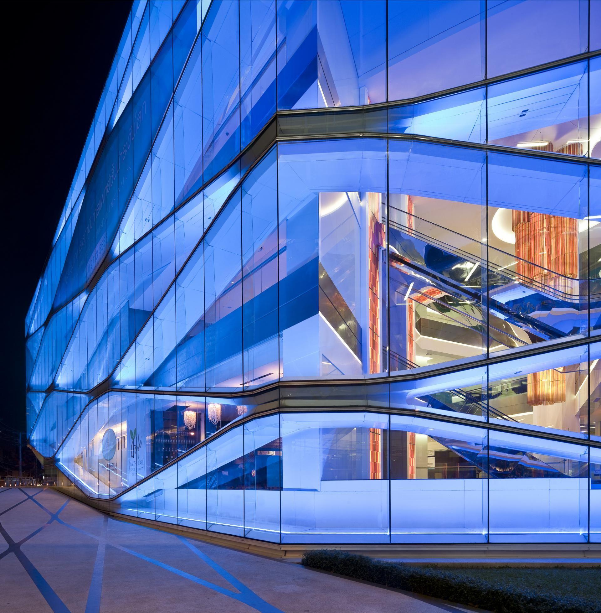 Bangkok Mediplex By Orbit Design Studio Thailand, Futuristic Architecture, Modern