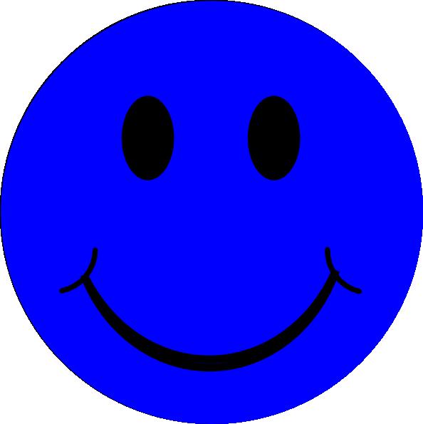Blue Smiley Face clip art - vector clip art online, royalty free ... |  Smiley, Smiley face, Feeling blue