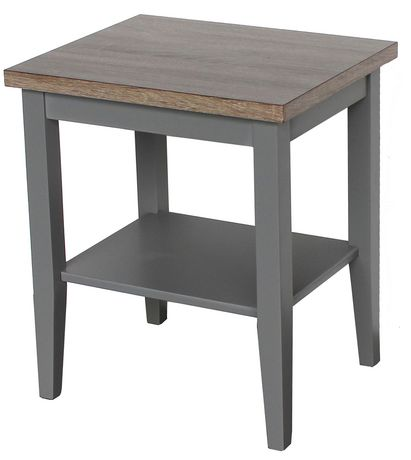 Hometrends End Table Grey Mix In 2019 Table End Tables Table Chairs