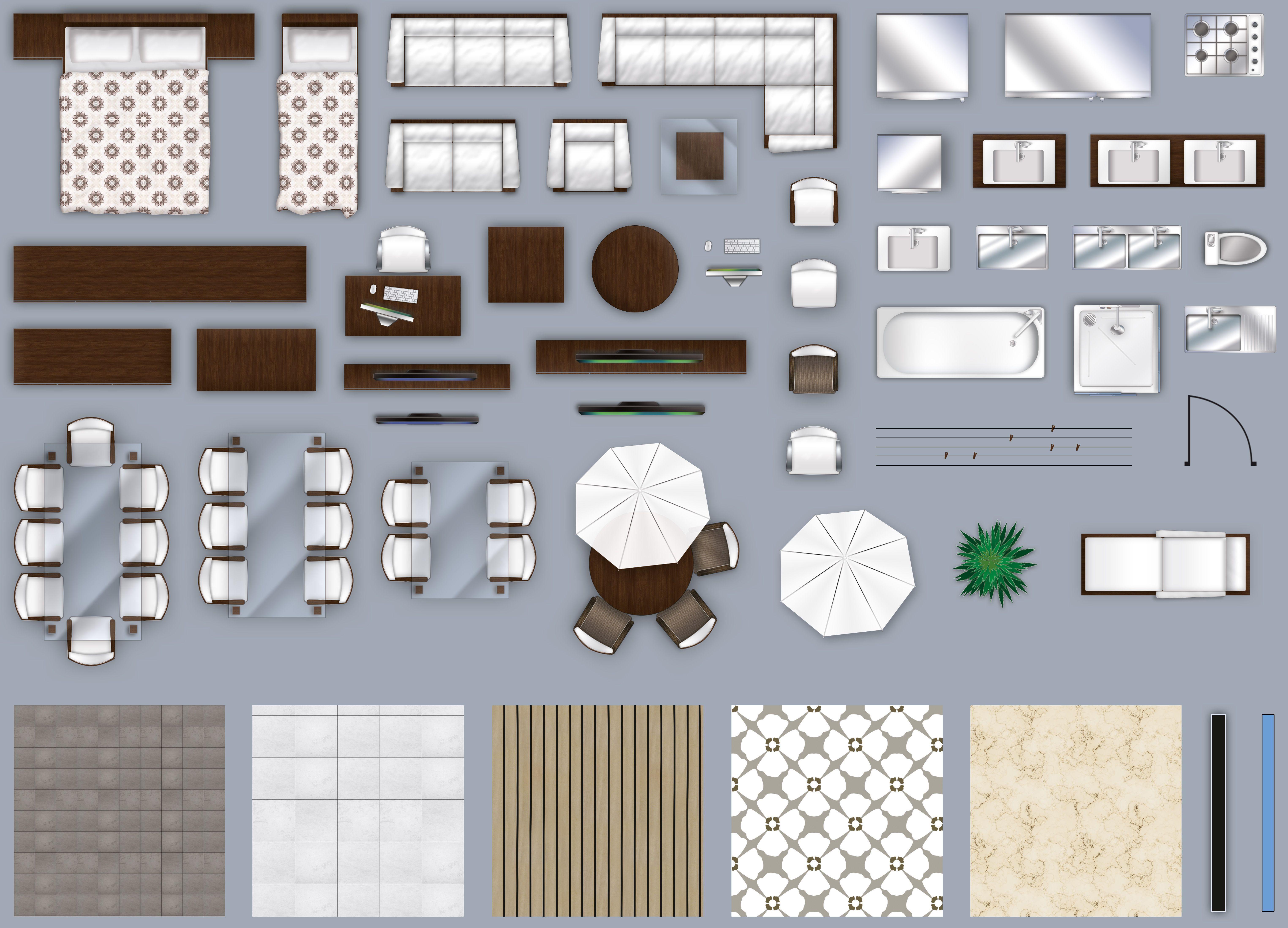 Related Image Interior Design Plan Modern Furniture Sets Floor Plans