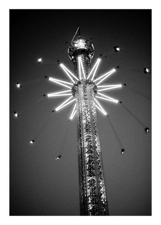 Carousel light Poster in de groep Posters / Foto kunst bij Desenio AB (8968)