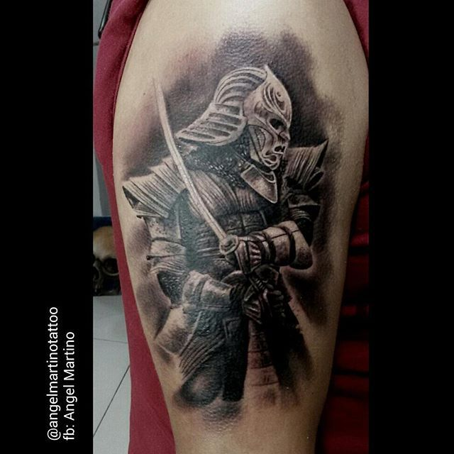 ver imagenes de tatuajes de samurais con realismo - Buscar con Google