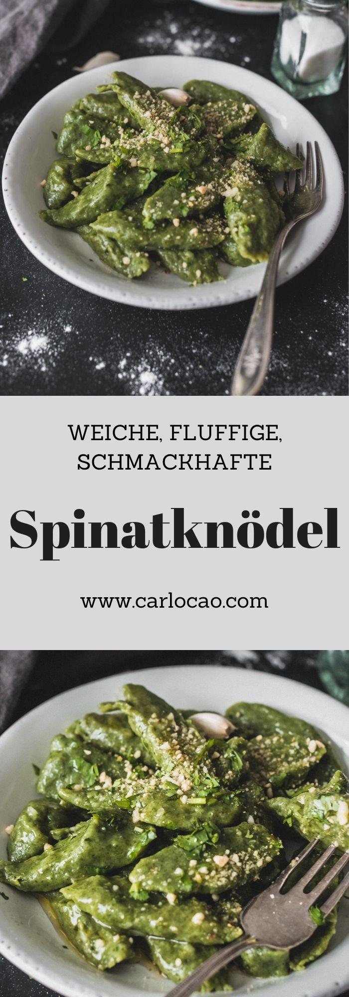 Capunet Spinatknodel Rezept Kuchenmaschine Rezepte Und Vegan Und Lecker