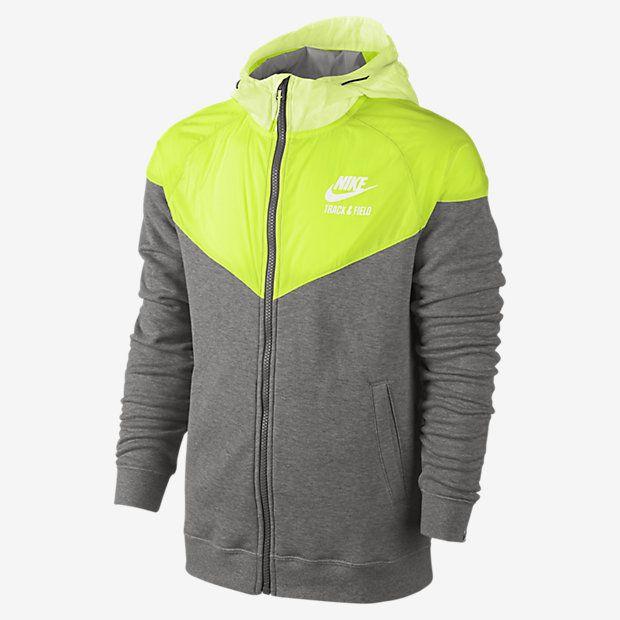 sprzedaż usa online najwyższa jakość gdzie kupić Męska bluza z kapturem Nike Track and Field Woven Mix Full ...