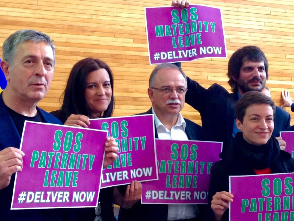 #MaternityLeave #delivernow approved! @ernesturtasun @papadimoulis @SteliosKoul @SkaKeller, and now @TimmermansEU?