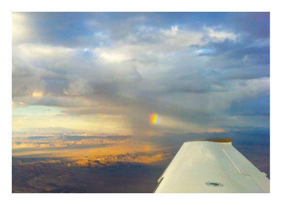 Rainbow At 14 000 Feet By Jeff Vilkin Domino Art Art