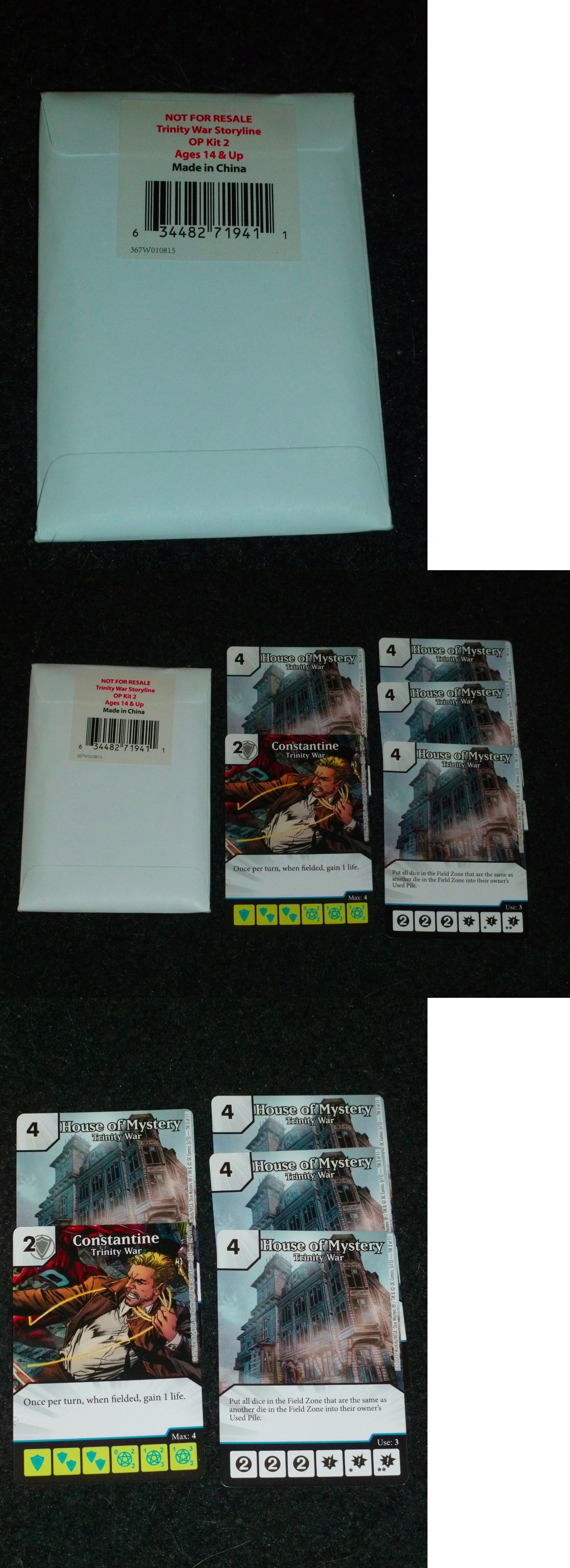 CCG Mixed Card Lots 183455 Dc Dice Masters Op Kit 2