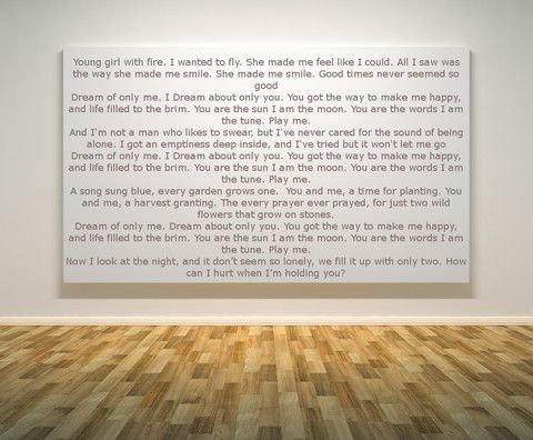 We Love Neil Diamond Lyrical Love Letter  Lyrical Love Letters