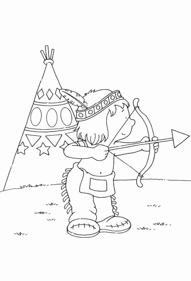 28 Bow and Arrow Coloring Page in 2020 (With images