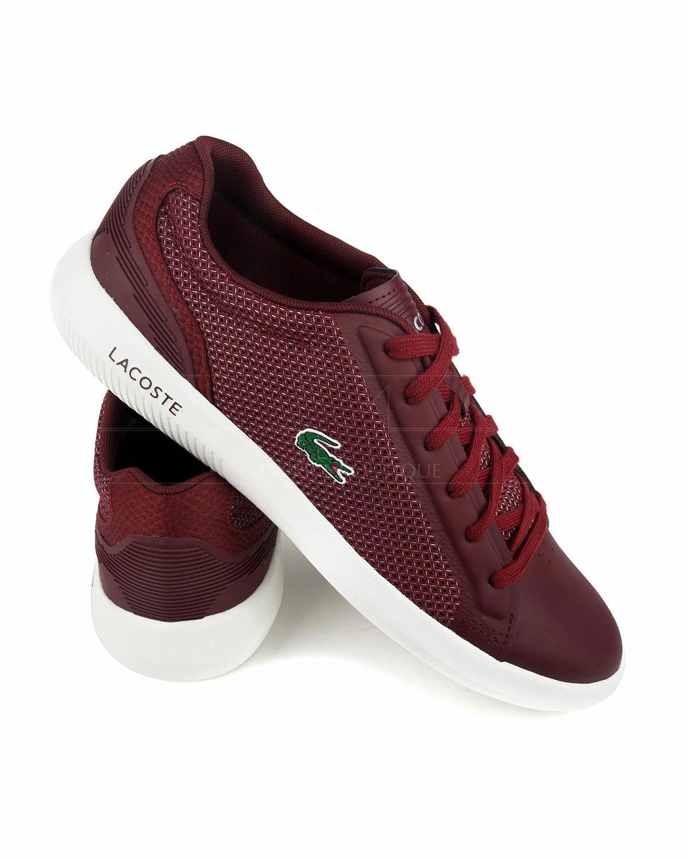Zapatillas Lacoste Avantor - Rojo ...   Zapatos p hombre   Pinterest ... 78a55c9e7c