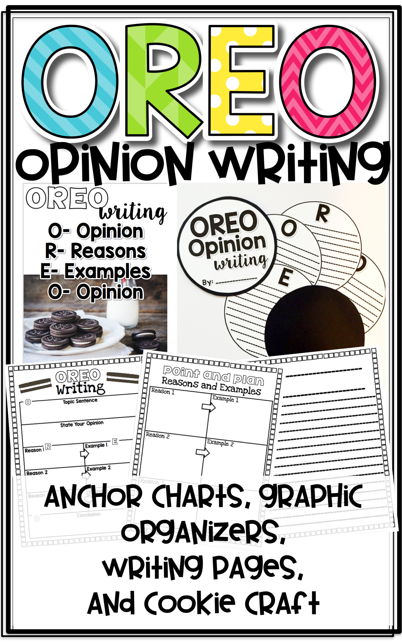 Oreo Opinion Writing With Anchor Charts Graphic