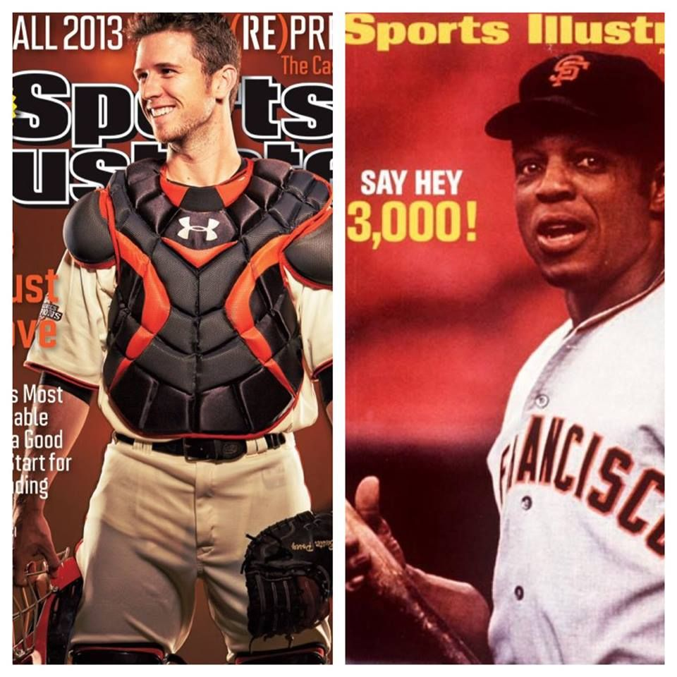 Sports Illustrated Covers Willie Mays July 27 1970 Buster Posey July 22 2013 Sports Illustrated Covers Sports Giants Baseball