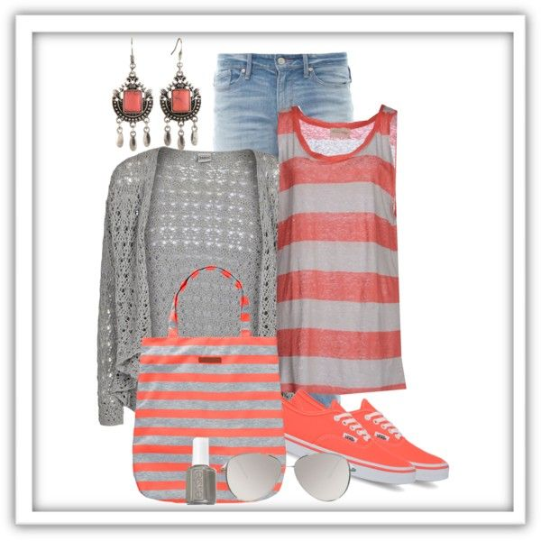 A fashion look from May 2014 featuring Object Collectors Item cardigans, American Vintage tops and MARC BY MARC JACOBS jeans. Browse and shop related looks.