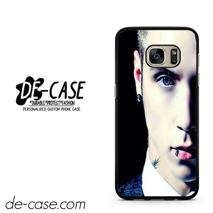Andy Biersack Black Veil Brides Half Face DEAL-765 Samsung Phonecase Cover For Samsung Galaxy S7 / S7 Edge