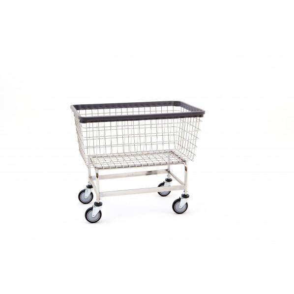201h Chrome Mega Capacity Big Dog Laundry Cart By R B Wire