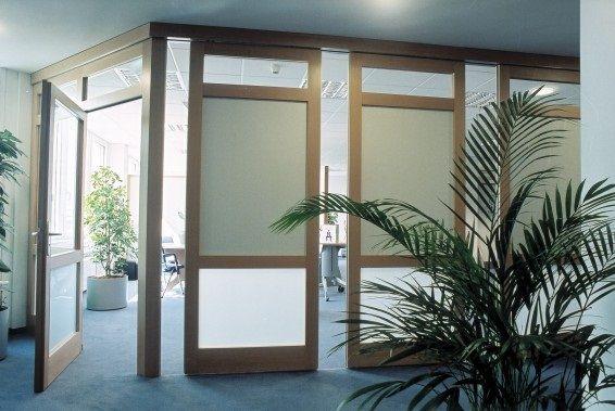 Hawa variotec 150 h tabiques deslizantes y apilables para - Paneles de madera para exterior ...