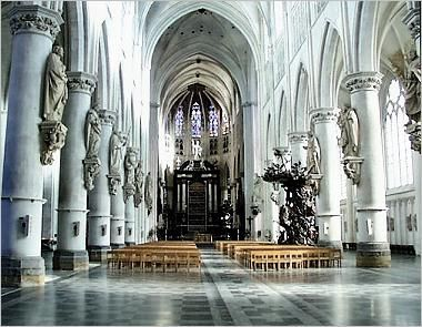 The Cathedral of Mechelen, Belgium