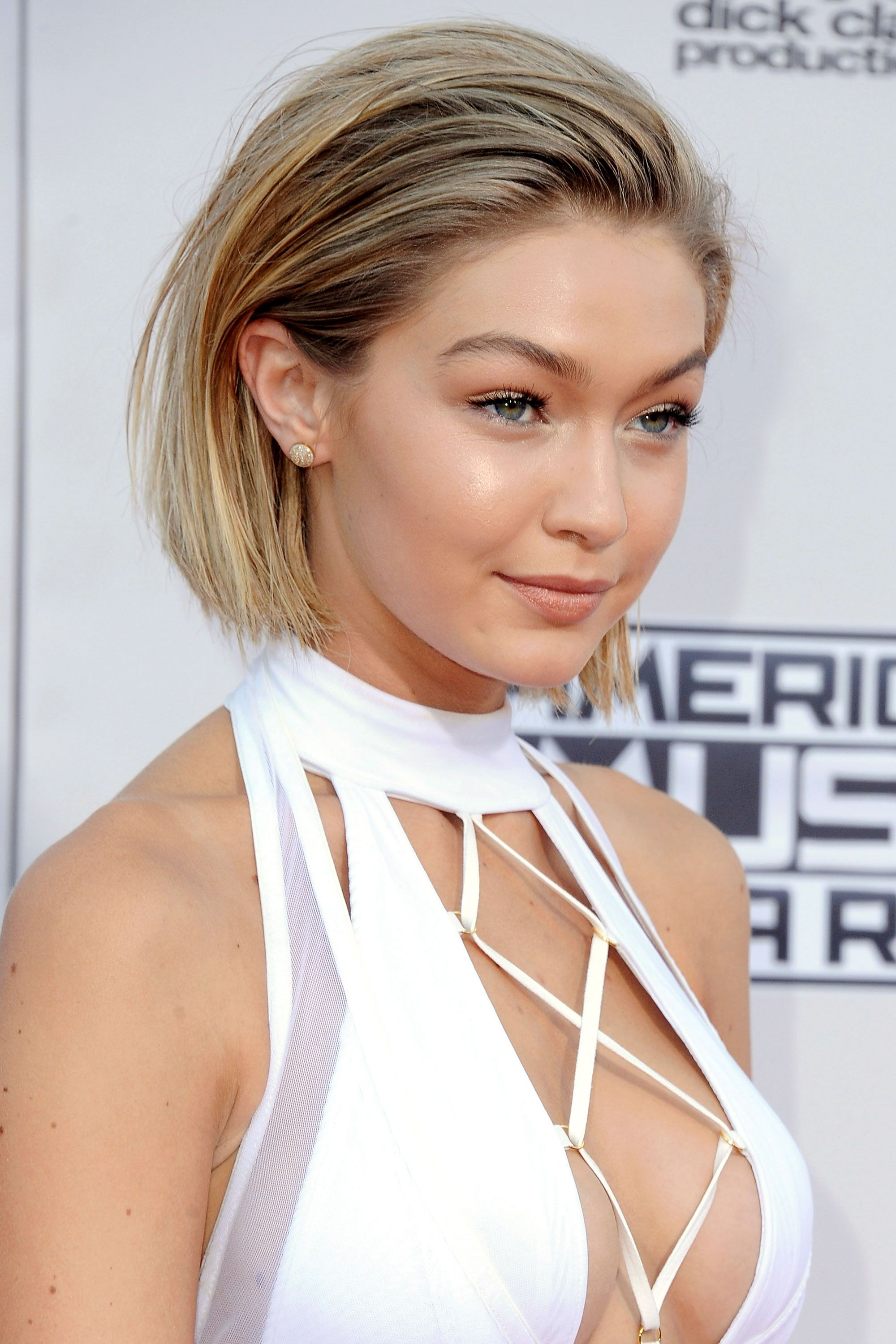 Mega model Gigi Hadid caused a stir when her millions and millions of followers thought she'd lopped off her long hair. She didn't. Although, this is a pretty good argument for taking it all off.      - ELLE.com