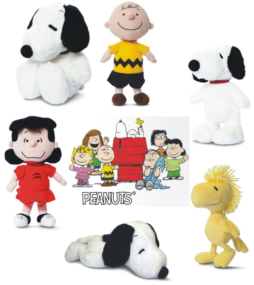 Snoopy Peanuts Soft Bean Doll Belle Stuffed Toy Collection Plush