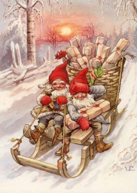 37 karácsonyi manó | PaGi Decoplage #lutindenoel