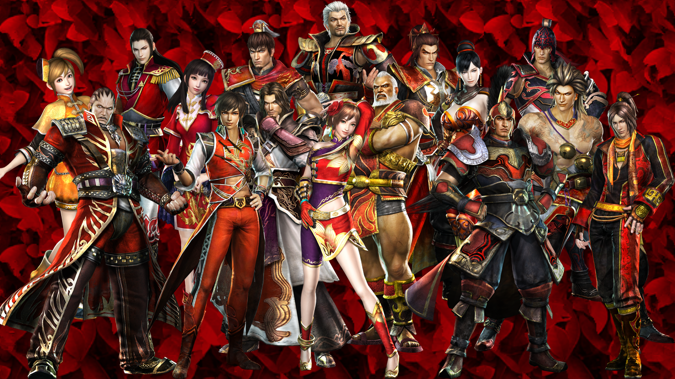 Gordon S Graphic Designs Dynasty Warriors 7 Wu Wallpaper