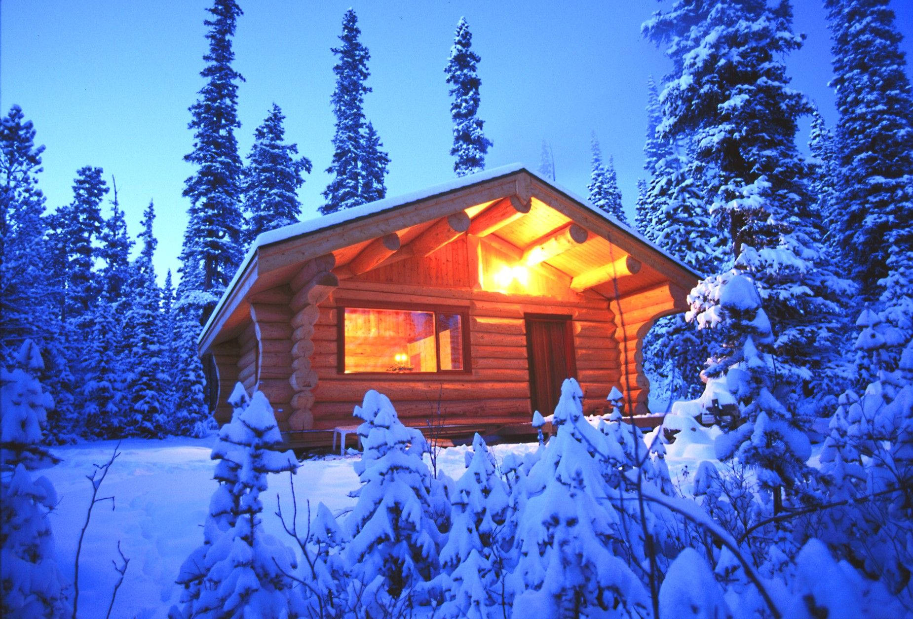 winter snow - Bing Images | Winter Wonderland | Cabin, Secluded