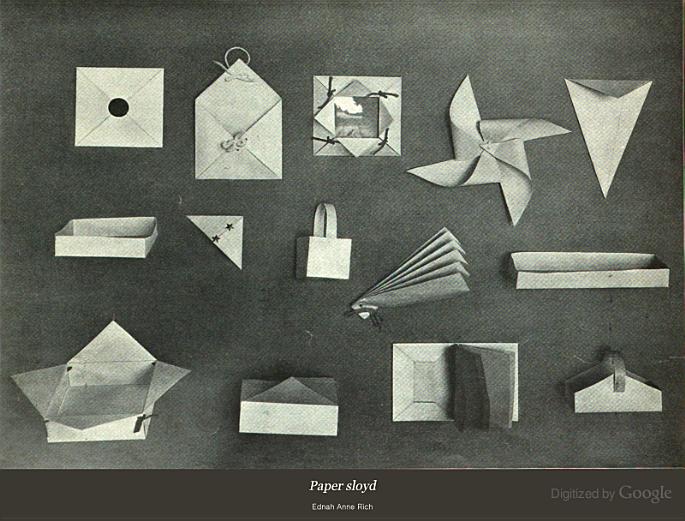 Paper Sloyd: A Handbook for Primary Grades - Ednah Anne Rich - Google Books | Homeschool art ...