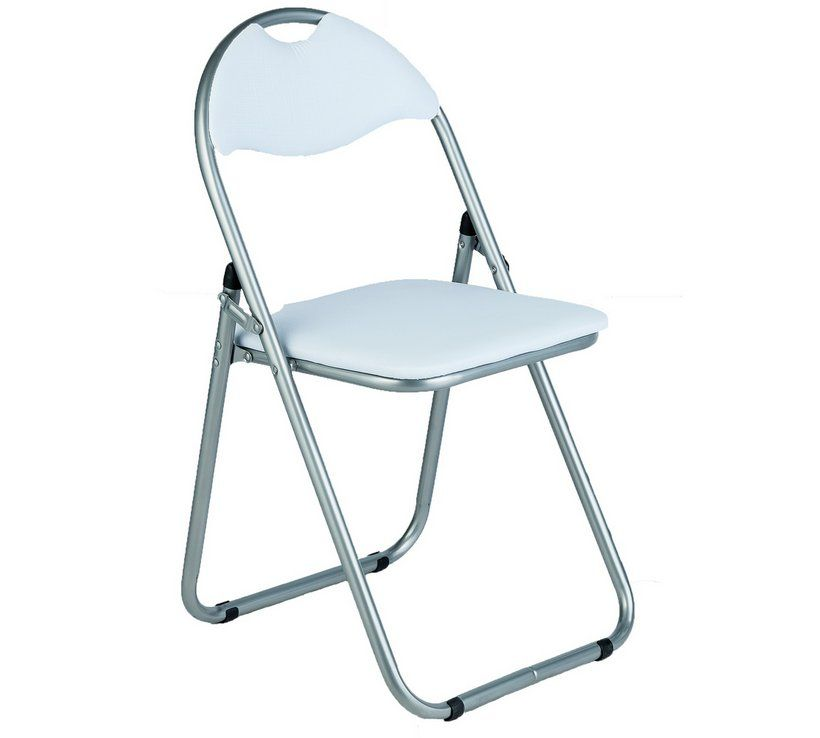 Amazing Home Padded Folding Office Chair White Jam Room In 2019 Ibusinesslaw Wood Chair Design Ideas Ibusinesslaworg