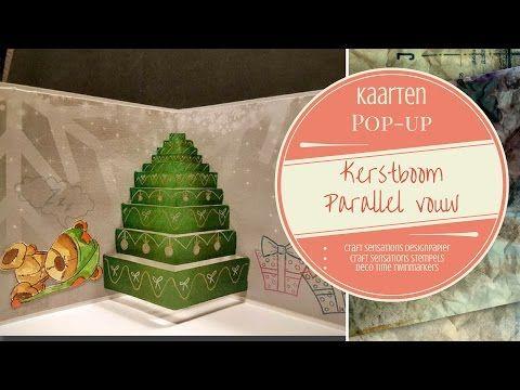 Pop-up Parallel vouw Kerstboom Deel 1 - YouTube