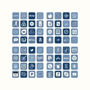 Winter App Covers | | Aesthetic iOS 14 Homescreen