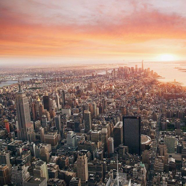 Seasonally Changing Cityscapes of New York