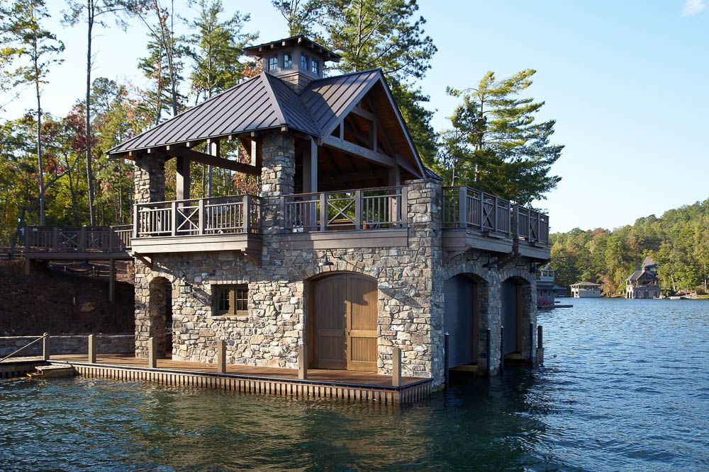 Bothouses rabun kitchens baths boathouses about us Lake house builders
