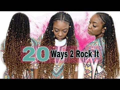 Photo of PASSION TWIST FULL TUTORIAL   20 Passion Twists Hairstyles— …