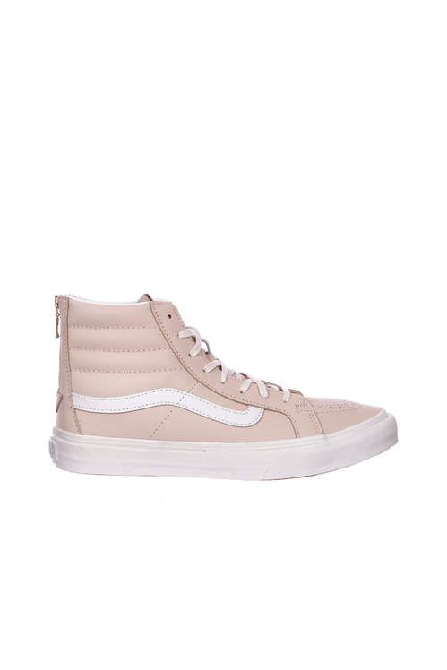UA SK8-HI SLIM ZIP - LEATHER - CHAUSSURES - Sneakers & Tennis montantesVans ia8O75