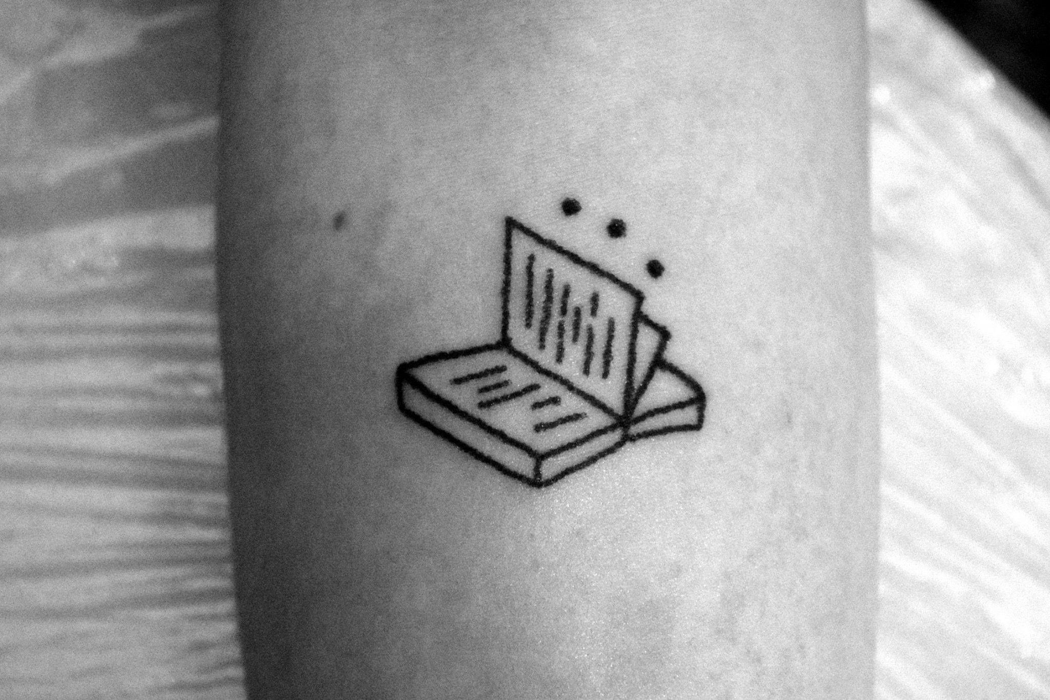 Tiny Book Tattoo Tattoos Arabic Tattoo Book Tattoo