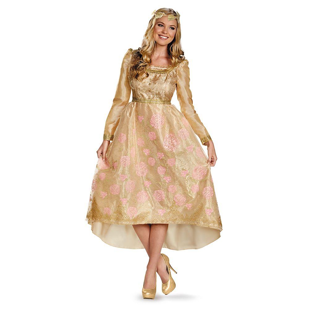 Aurora Coronation Deluxe Gown Child Costume