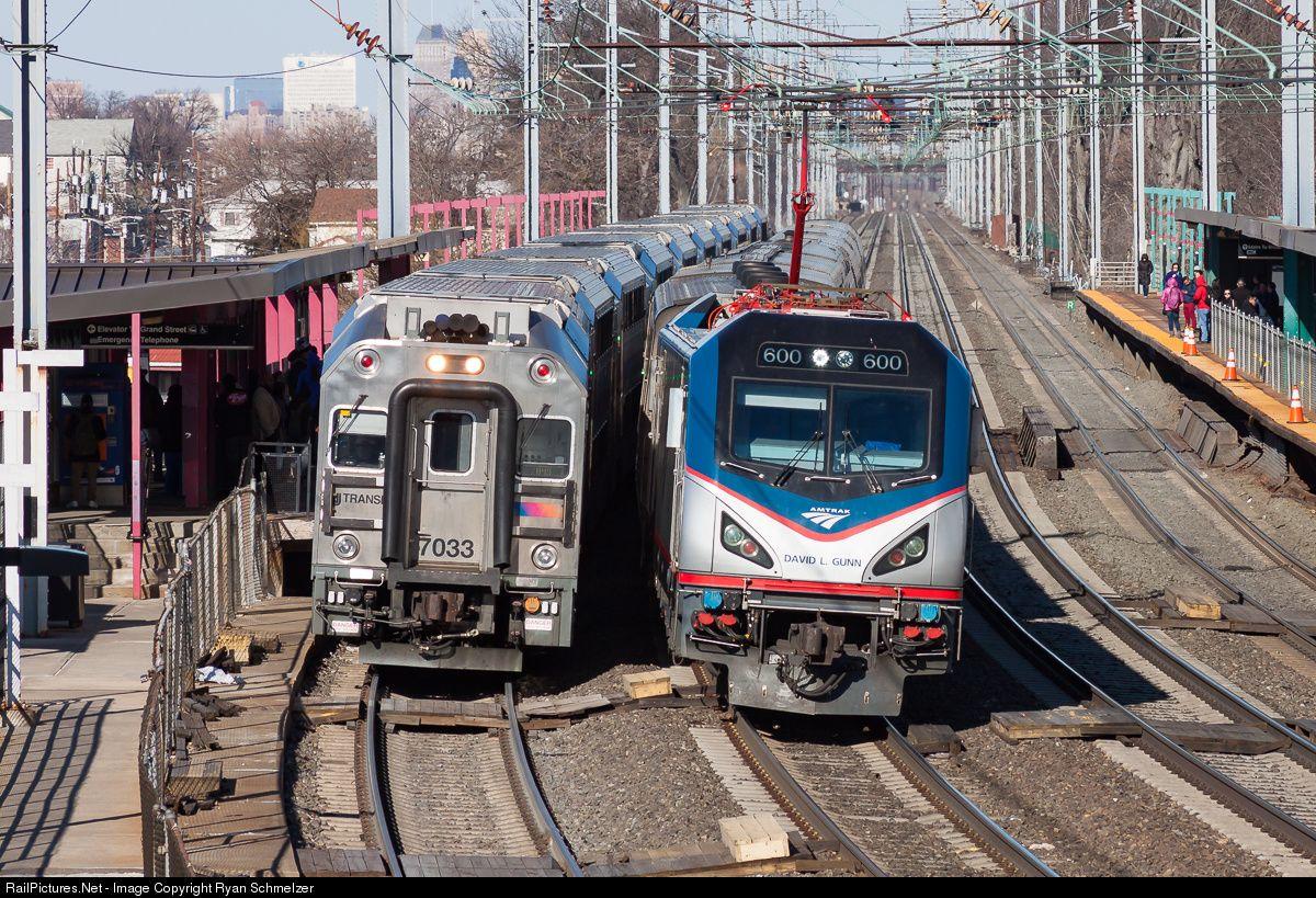 RailPictures.Net Photo: AMTK 600 Amtrak Siemens ACS-64 at Elizabeth, New Jersey by Ryan Schmelzer