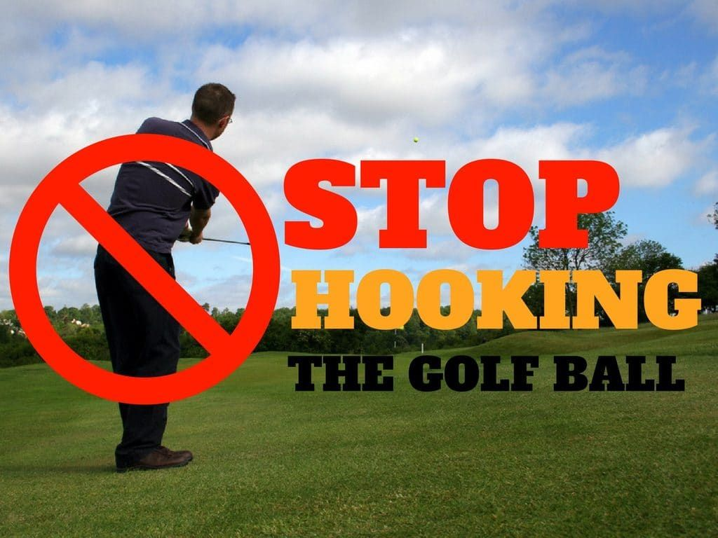 How To Stop Hooking The Golf Ball Golf ball gift, Golf