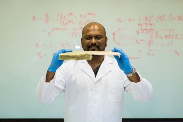New aerogel insulation material more soundproof and heat