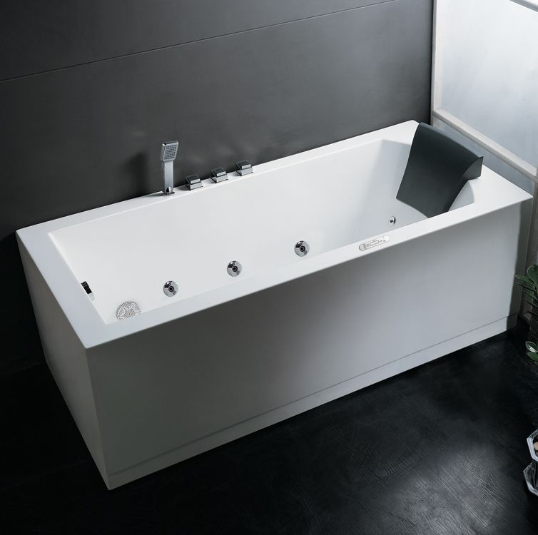 Ariel Platinum AM154JDTSZ-L70 Whirlpool Bathtub | Bathtubs, Luxury ...