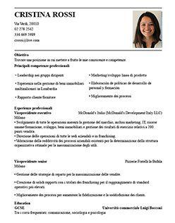 Classica 3 Curriculum Vitae Curriculum