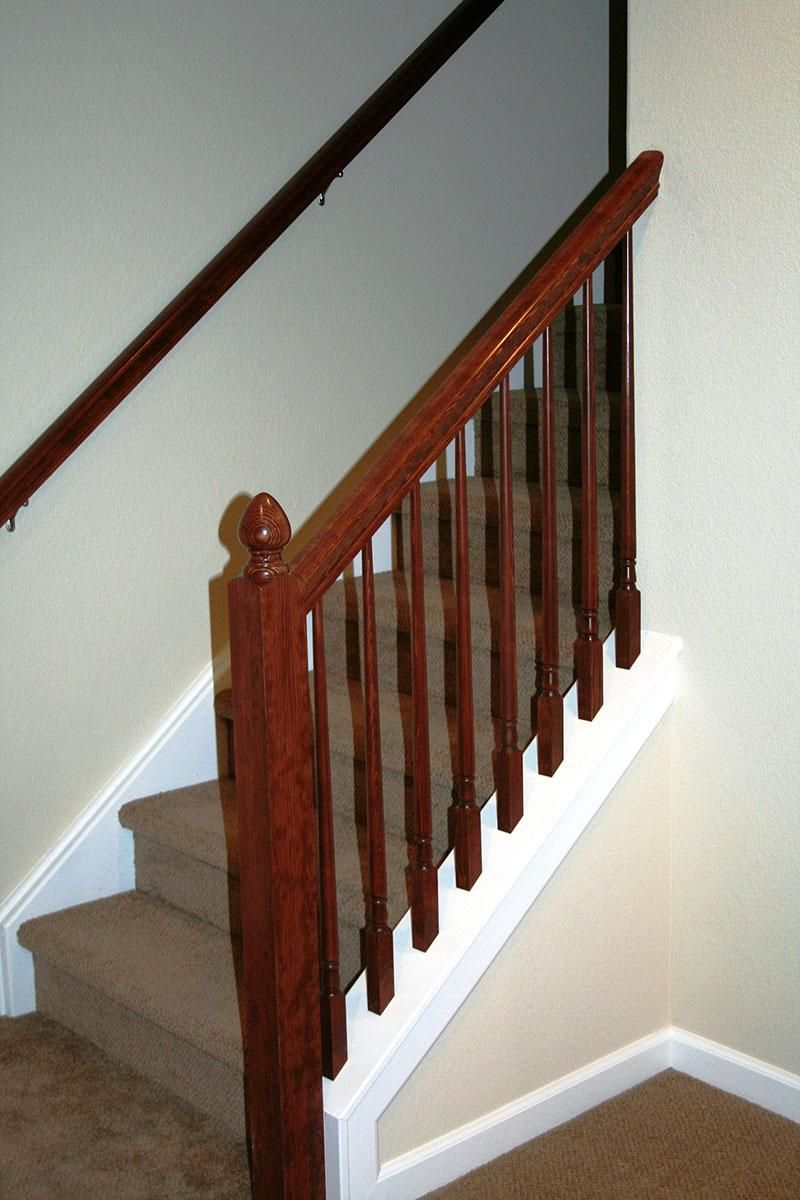 Basement Stairs Ideas: Stair Railing Ideas Basement