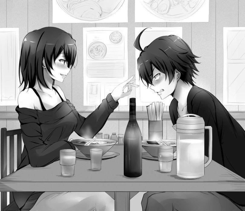 OreGairu-Anime-Yukinoshita-Haruno-Hikigaya-Hachima | Anime ...