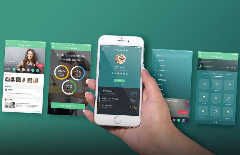 5 Mockups Gratuitos Para Projetos Mobile Designerd App Mockup Free Iphone Apps Iphone